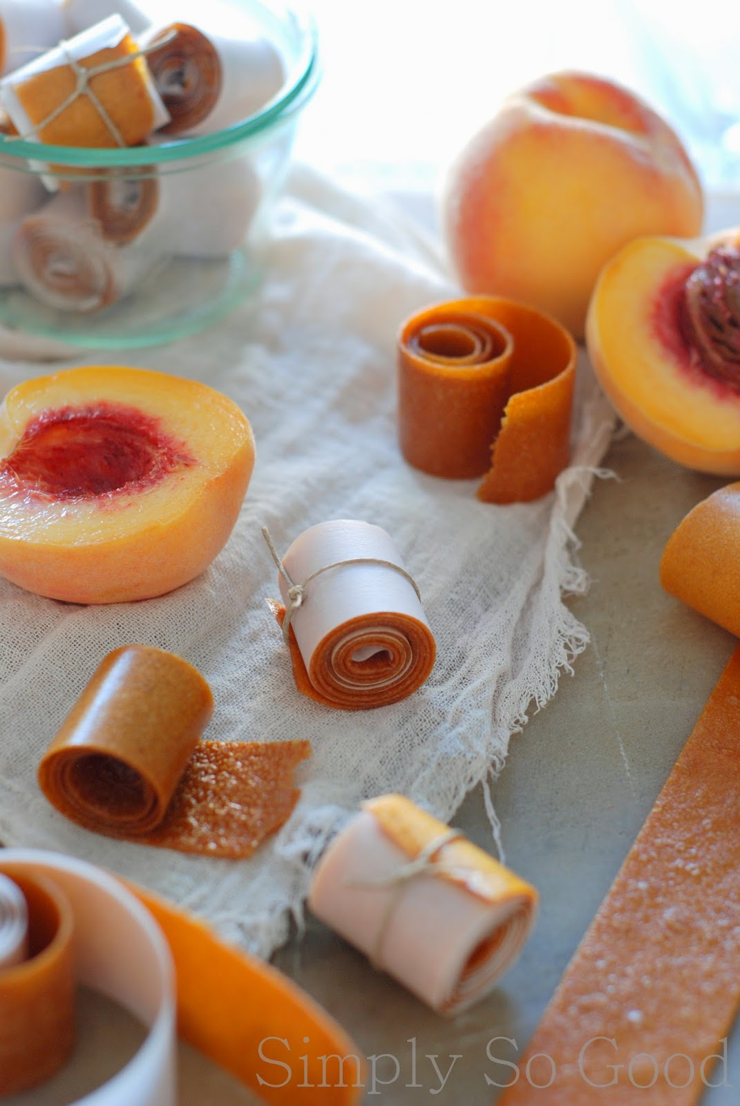 Peach Fruit Leather Recipe — Dishmaps