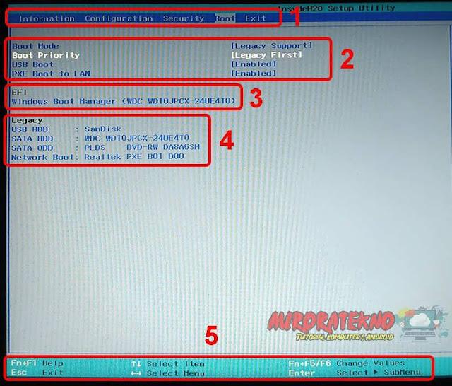 5 Cara Mengatur Boot Priority Pada BIOS Saat Install Ulang