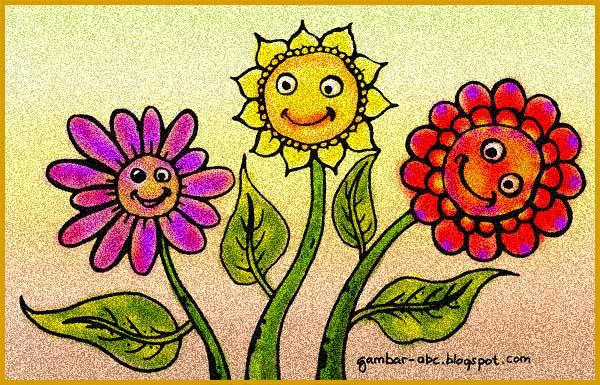 Bunga Matahari Lucu