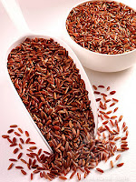 The content in brown rice is good for health