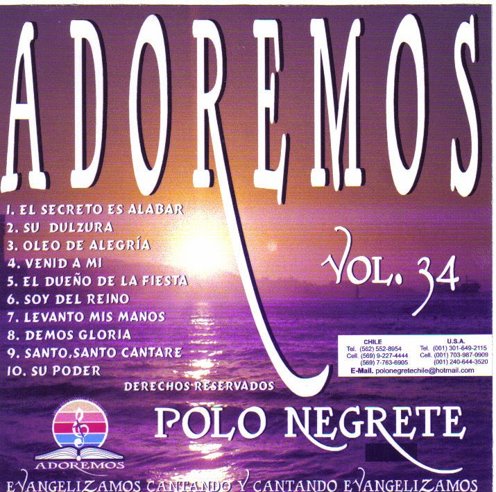 Polo Negrete-Vol 34-Adoremos-