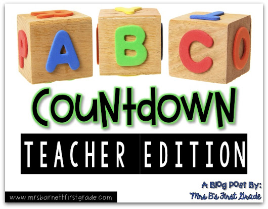 ABC Countdown - Teacher Edition!