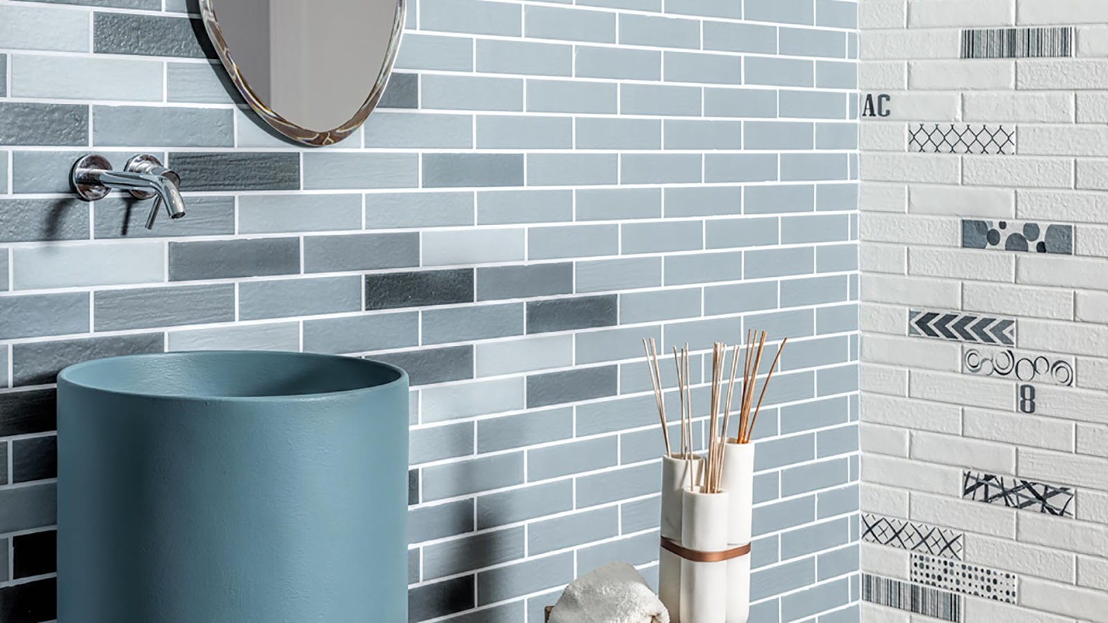 Slim brick wall tiles Urban & Colors collection from Brick ...