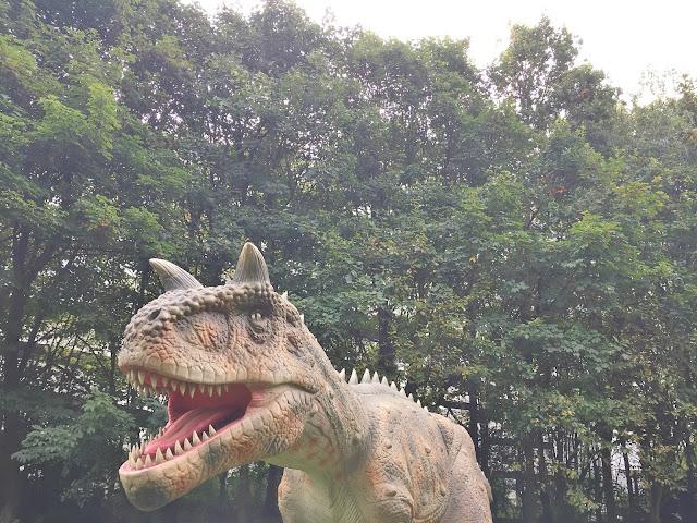 Jurassic Kingdom Newcastle Leazers park dinosaur