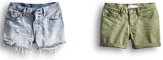 Vintage Inspired Shorts or Traditional Shorts