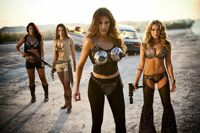 sexy killer girls in Machete Kills