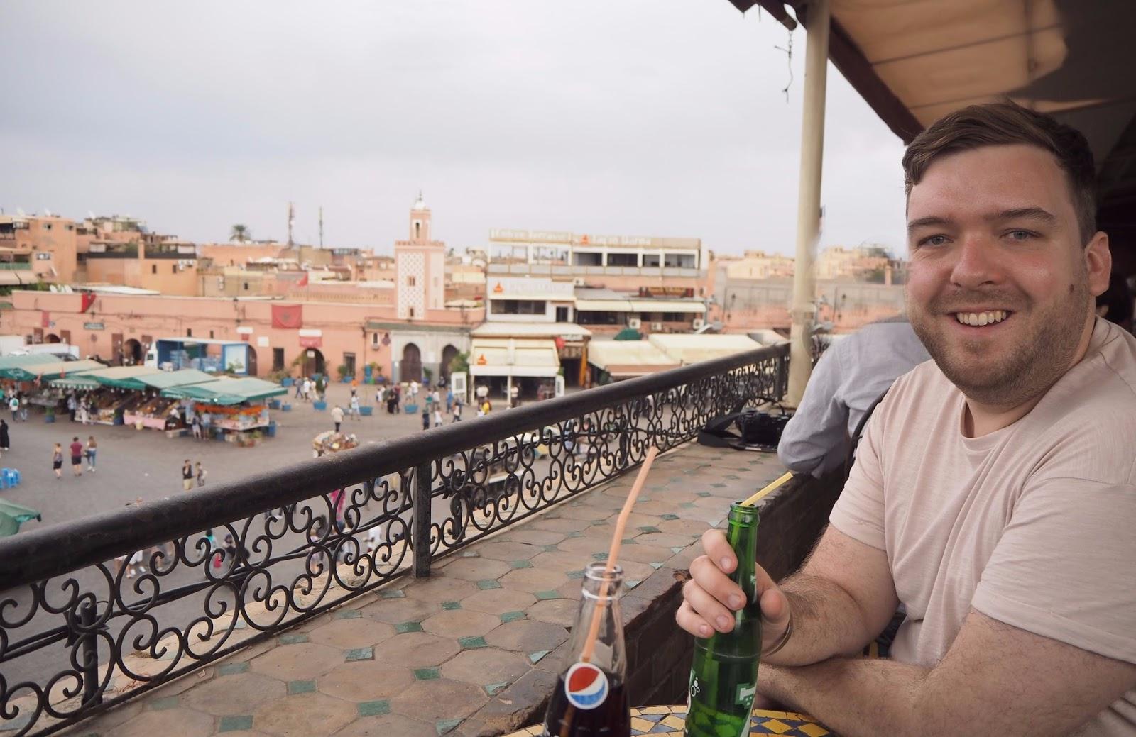Above the medina