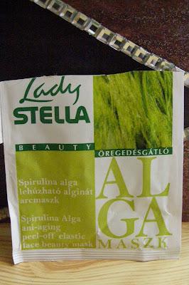 Lady Stella - SPIRULINA sťahujúca alginátová pleťová maska