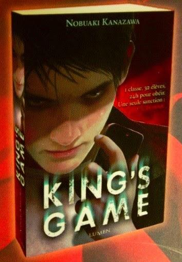 manga ki oon lumen extreme ousama king s game le roman