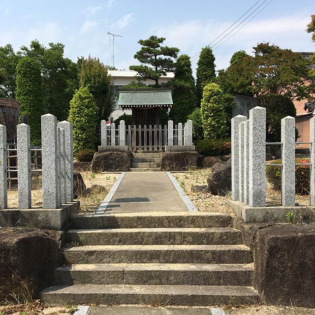 鳴海天神社(2017年6月10日撮影)
