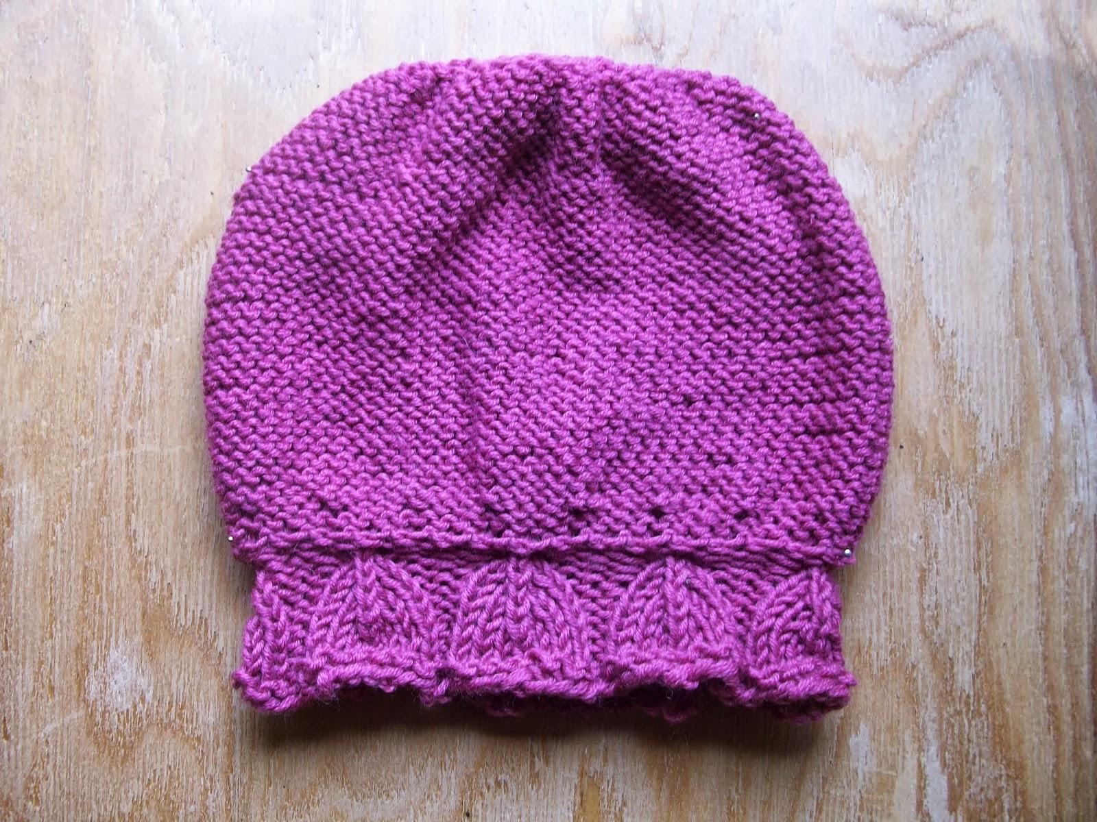 Knitting per bebè  cappellino per femminuccia - Parte 1 b0ce0dfb5fb7