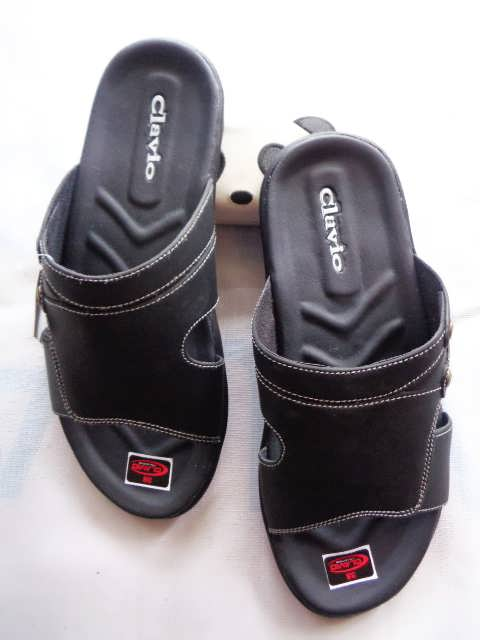 Produksi sandal Semi kulit Bogor || Sandal Imitasi Clavi