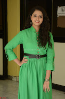 Geethanjali in Green Dress at Mixture Potlam Movie Pressmeet March 2017 086.JPG