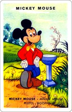 Juego Familias Walt Disney Carta Mickey Mouse 1