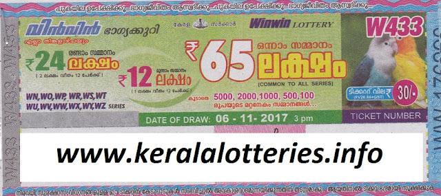 Win Win (W-433) on November 06, 2017