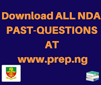 nda past questions on mathematics