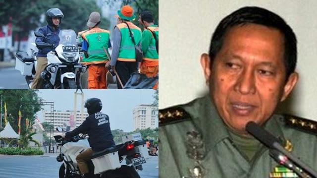 S Prabowo Komentari Motor Anies: Kok Bukan seperti yang Dipakai Ksatria Baja Hitam?