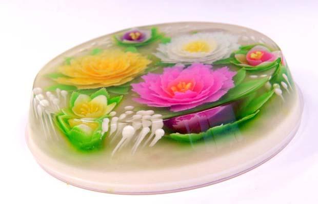 Resep Cara Membuat Puding Art Bunga Sederhana
