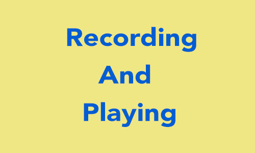 Audio Recording and Playing in Swift 3 0  - iOSDevCenter