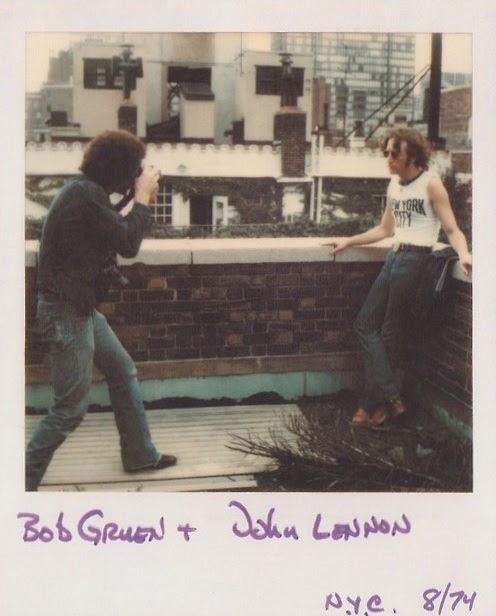 Apts Magazine: Vintage Everyday: John Lennon @ New York 1974 By Bob Gruen