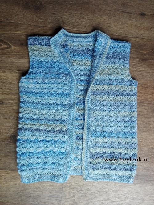 Heyleuk Mouwloos Vest Haken