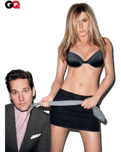 the aniston site jennifer aniston and paul rudd gq photo shoot. Black Bedroom Furniture Sets. Home Design Ideas