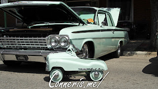 1962 Chevrolet Bel Air Matching Pedal Car