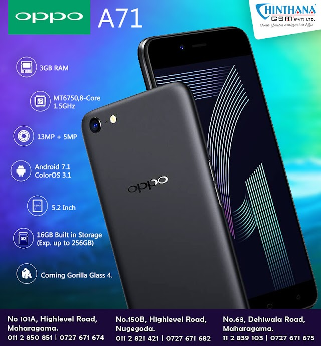 Oppo Preloader Driver for A71 (CPH1717) Download Free