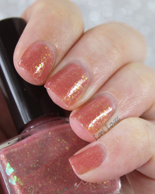 Femme Fatale Cosmetics Heart's Desire nail polish swatches & review
