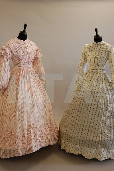 Mid-1860s sheer dress from Kerry Taylor Auctions
