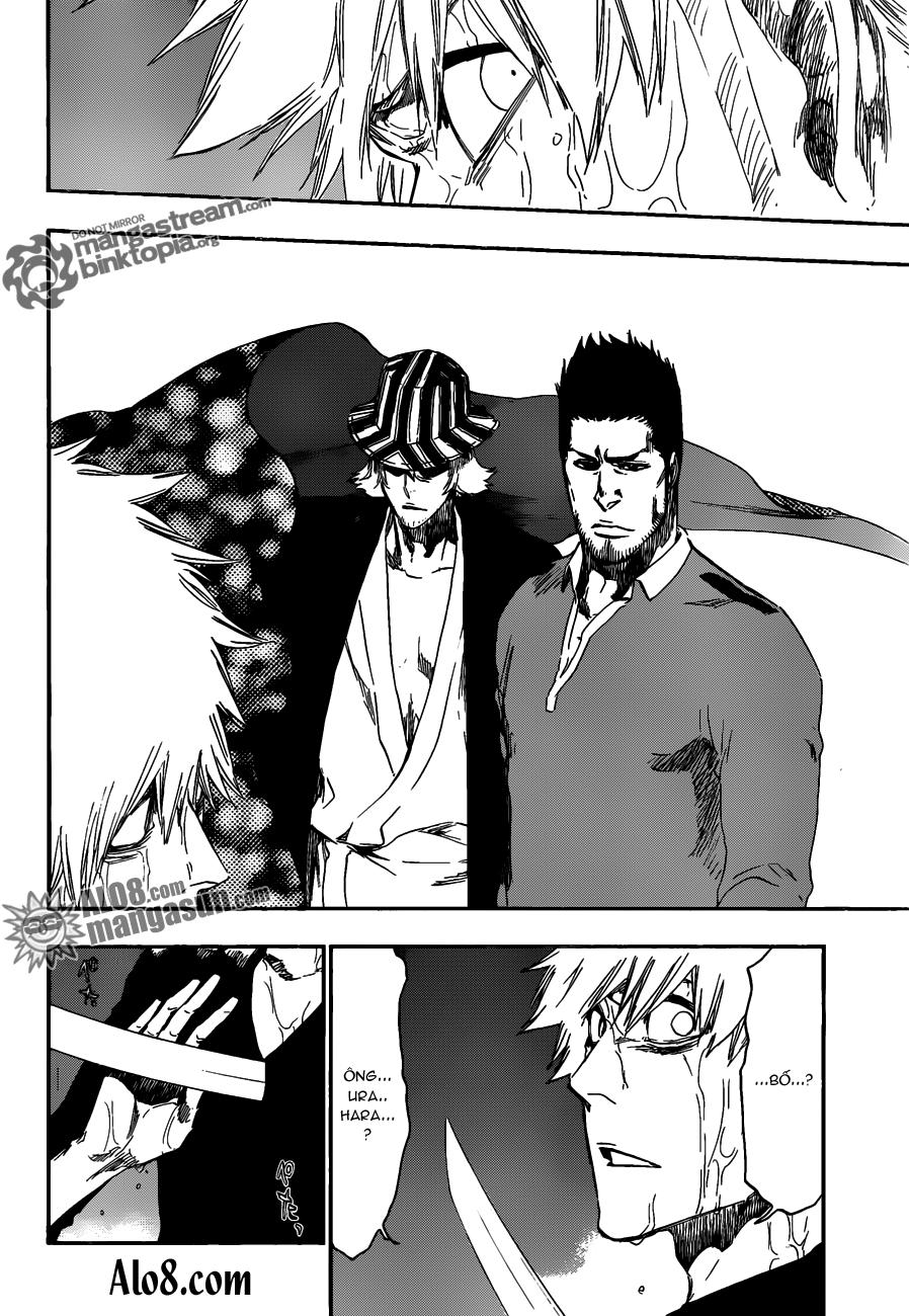Bleach chapter 459 trang 12