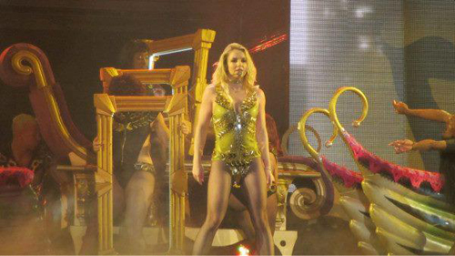 Britney Spears Did Well, Not Bad in Abu Dhabi Concert