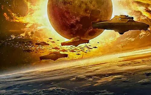 Resultado de imagen para guerra entre naciones extraterrestres