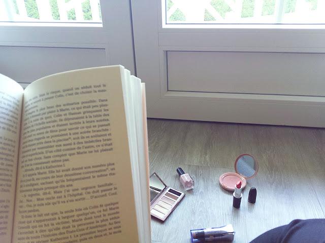 le bloc-notes de carmen se prépare mac john green tag livresque makeup book bookworm