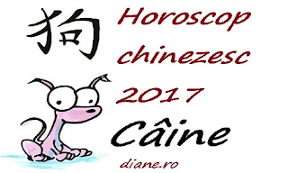 Horoscop chinezesc Câine 2017