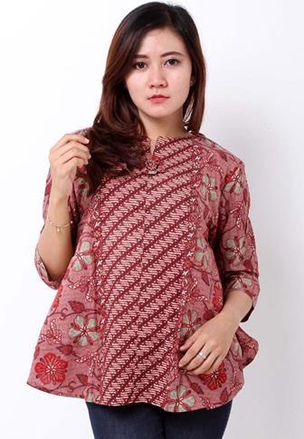 Inspirasi Baju Blus Batik Wanita