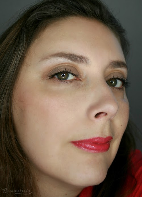 Wearing Indie Rose fotd motd full face picture