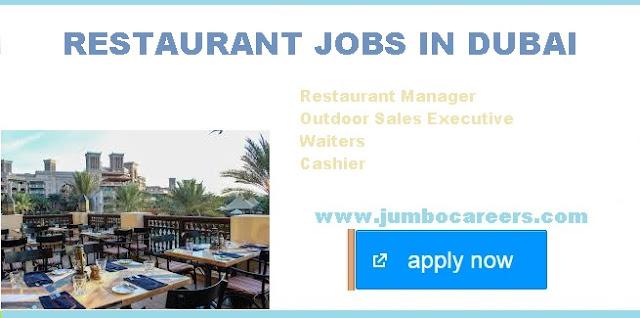 restaurant jobs in dubai,