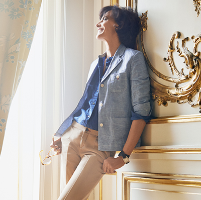 Style icon Inès de la Fressange [for Uniqlo]