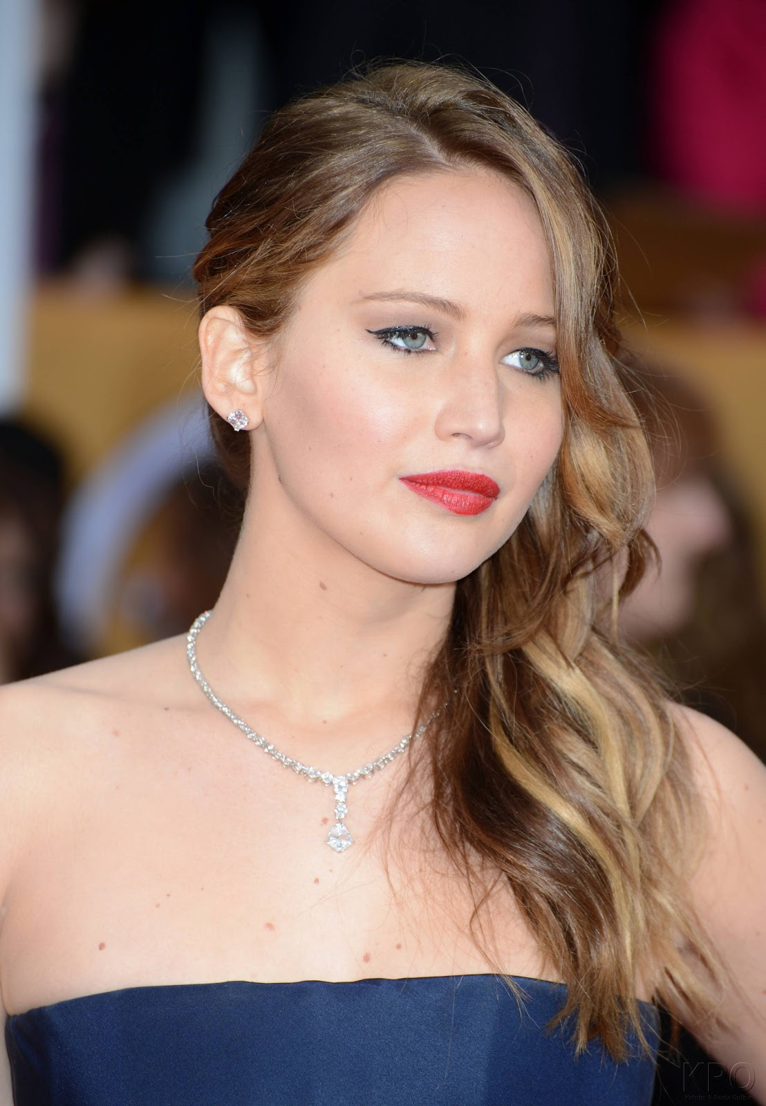 Jennifer Lawrence Makeup Tutorial: Jennifer Lawrence Fansite: Jennifer Lawrence At The SAG Awards