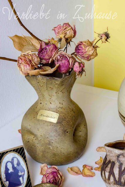 Mehr als nur Flohmarkt-Charme: Kleine Kostbarkeiten wie diese handgefertigte Vase sind doch ein Muss