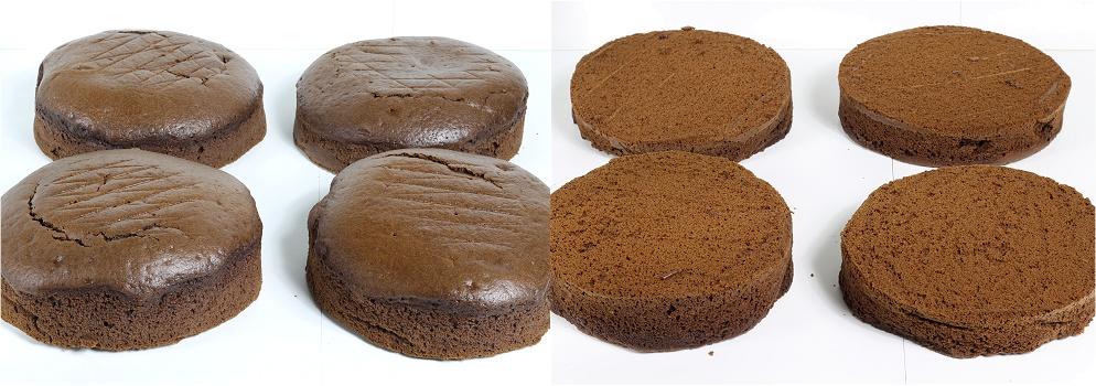 Schokoladen-Karamell-Walnuss-Himbeer-Torte - Drip Cake Anleitung