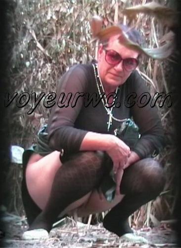 PissHunters 8689-8704 (Outdoor voyeur peeing. Voyeur public toilet spy cam)