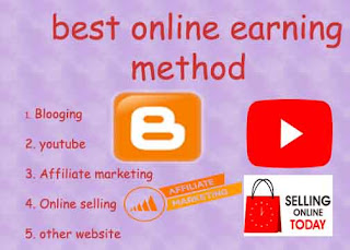 Best online earning method top 5 full in hindi
