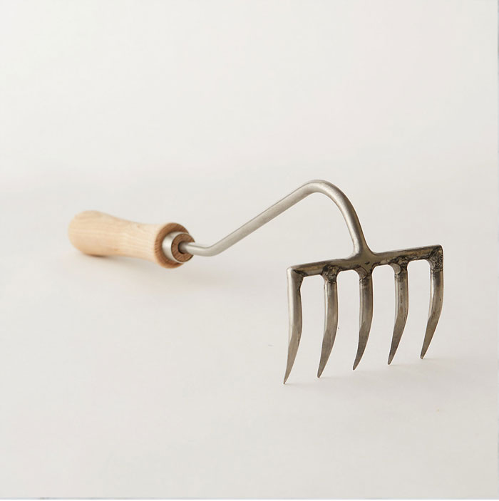 Hand Garden Rake from Terrain - One of five essential garden tools