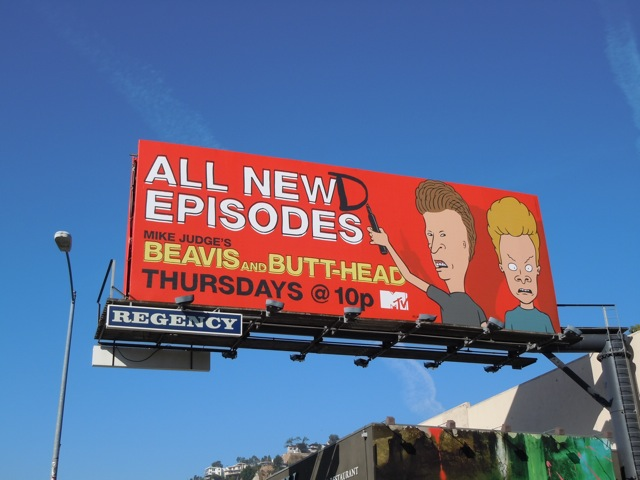 Beavis and Butthead newd episodes billboard