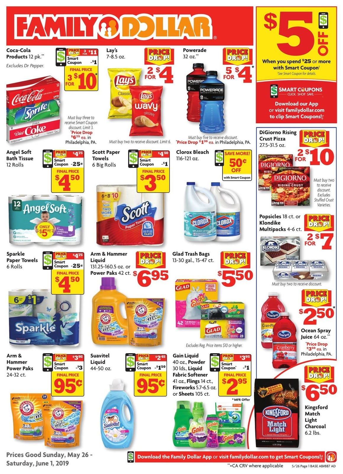 Family Dollar Ad 6 2 19 Weekly June
