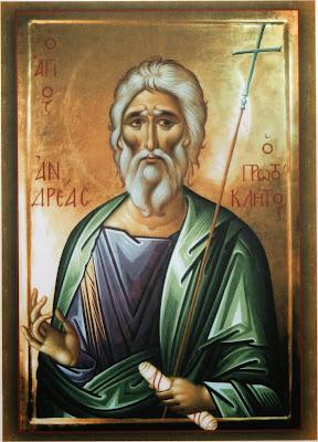 Αποτέλεσμα εικόνας για άγιος ανδρέας