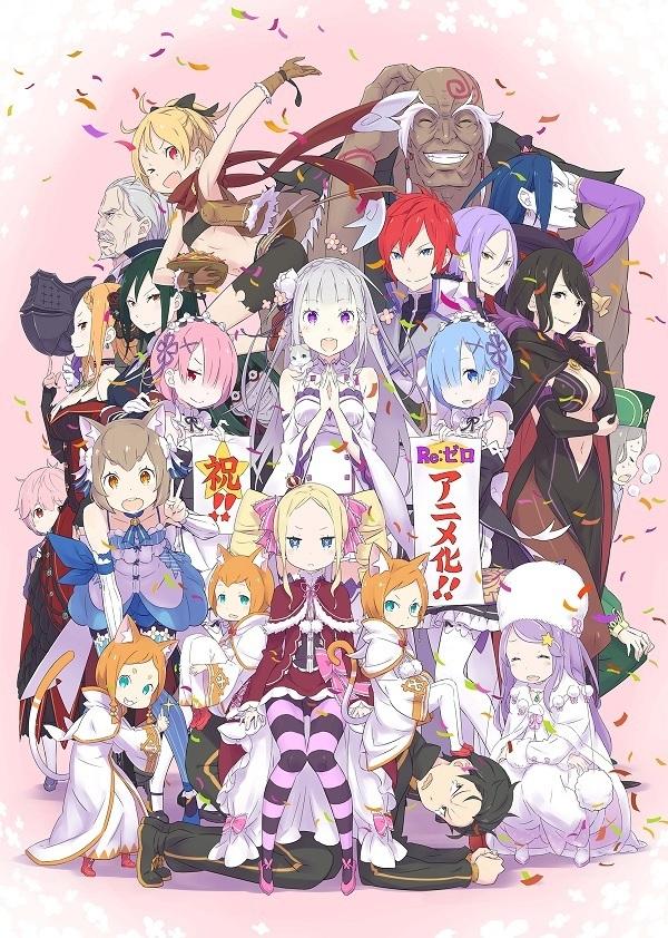 Re:Zero kara Hajimeru Isekai Seikatsu |25/25+Especiales| |Sub. Español||Mega|