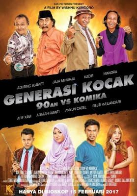 DOWNLOAD GENERASI KOCAK 90AN VS KOMIKA (2017)  360p 480p 720p 1080p DVDRip